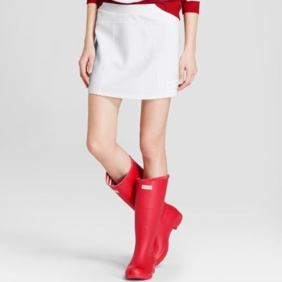 a9a9615192 Hunter for Target Skirts | Nwt White Mini Skirt Sz Small | Poshmark